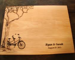 wedding cutting board jar custom cutting board wedding present bridal shower