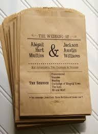 cool wedding programs 15 non traditional wedding programs wedding programs confetti