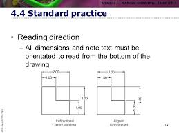 how to read dimensions chapter 4 dimensioning ppt download