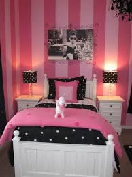 master bedroom room ideas for teenage girls pink tv above