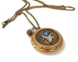 long locket pendant necklace images Long locket necklace etsy jpg