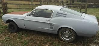 1967 ford mustang fastback project for sale 1967 1968 mustang fastback a code acapulco blue project awesome
