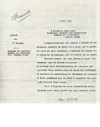 lettre de demande de fourniture de bureau le concours organise en 1928 pour le timbre jeanne orleans 1929