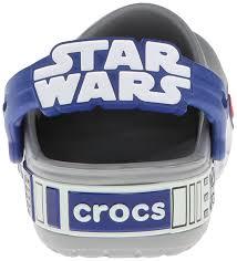 star wars crocs light up zappos crocs crocs cb star wars r2d2 unisex kids clogs boys shoes