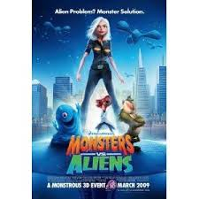 monsters aliens poster 11x17 size poster chris