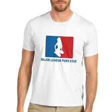 Funny American Flag Shirts Men U0027s Major League Star Funny T Shirt Ebay