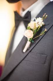 Gold Boutonniere Pink And Gold Italian Wedding Inspiration The Pink Bride