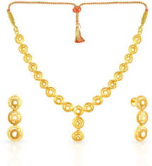 small gold necklace sets images Malabar gold and diamonds yellow gold malabar 22kt na earring jpeg