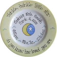 baby birth plates personalized two peas in a pod birth announcement painted baby