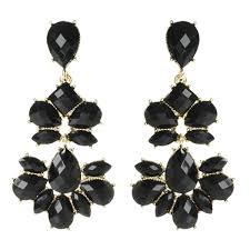 black chandelier earrings nello chandelier earring shop amrita singh jewelry