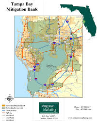 Florida On The Map by Tampa Bay Mitigation Bank U2013 Mitigation Marketing