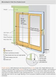 Patio Door Sizes Innovative Height Of Sliding Glass Doors Standard Patio Door Size