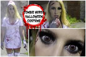 zombie nurse halloween costume youtube