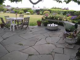 Cost For Flagstone Patio by Learn How To Place A Flagstone Patio Without Cutting Stones