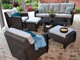 Conversation Sets Patio Furniture by Better Homes And Gardens Colebrook 4 Piece Outdoor Conversation