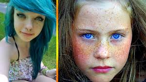 most beautiful girls with amazing freckles youtube