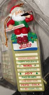 Pepsi Christmas Ornaments - 87 best food u0026 beverage collectibles images on pinterest