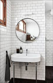bathroom awesome white and black tile bathroom black and white
