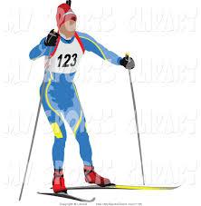 ski clipart nordic skiing pencil and in color ski clipart nordic