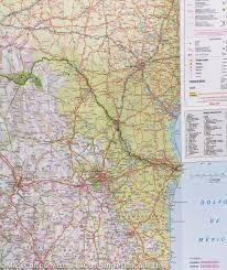 map of mexico guatemala belize u0026 el salvador nelles map