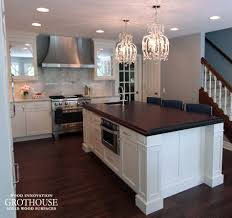 peruvian walnut kitchen island countertop in madison wi