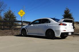 2015 mitsubishi lancer evolution final edition first drive review