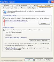 autoriser bureau a distance l assistance à distance sous windows tutorial articles astuces