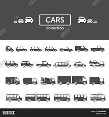 cars icon collection set vector u0026 photo bigstock