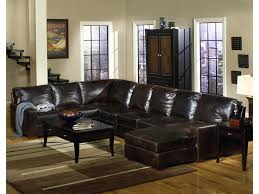 Track Arm Sofa Usa Premium Leather 9935 Track Arm Sofa Chaise Sectional