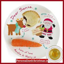 christmas plate santa personalised christmas plate personalised christmas