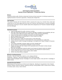 Resume Sample Quality Assurance Specialist by Quality Assurance Specialist Resume Free Resume Example And