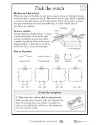 5th grade science worksheets on electricity for description with