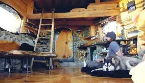 legendary snowboarder builds his own remarkable off grid cabin