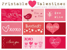 valintine cards 11 free printable valentines for s day