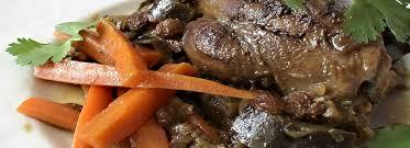 agneau cuisine agneau au confit d aubergines cuisine algérienne