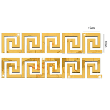 Wall Borders Online Buy Wholesale Wall Borders For Living Room From China Wall