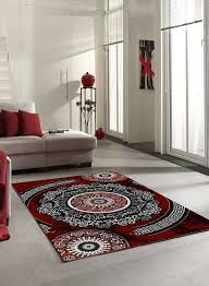 Tapis Salon Noir Et Blanc by Indogate Com Salon Rouge Gris