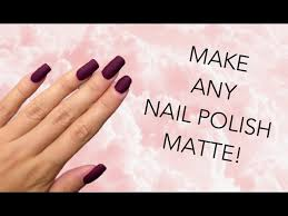5 ways to make matte nail polish wikihow