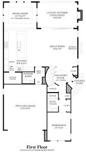 Circular Home Floor Plans Avila At Porter Ranch Glen Collection The Wildwood Home Design