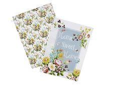 Shabby Chic Placemats by Set Of 8 Katie Alice Candy Flower Cork Backed Shabby Chic