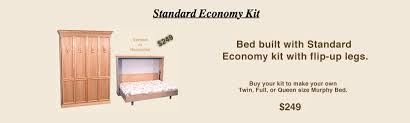 Murphy Bed Directions To Build Wallbed And Murphy Bed Kit