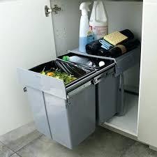 poubelle cuisine encastrable coulissante poubelle cuisine encastrable sous evier poubelle cuisine