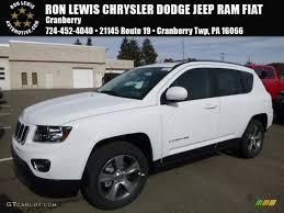 jeep compass trailhawk 2017 white 2017 bright white jeep compass latitude 4x4 116706377 gtcarlot