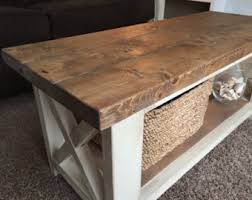 rustic living room tables rustic coffee tables etsy