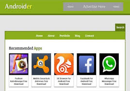 androider blogger template 2014 free download