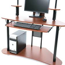 Corner Computer Desk Ideas Corner Computer Tower Desk Startling Small Computer Desk Ideas