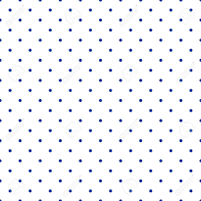 green repeating halloween background seamless vector pattern with small tile sailor navy blue polka