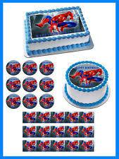 spiderman cake ebay
