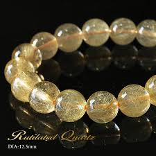 quartz crystal bracelet beads images Imore rutile quartz bracelet 12 5mm gold rutilated quartz jpg