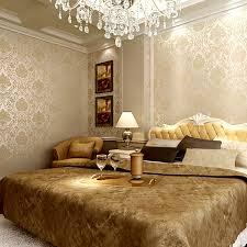 modern 3d gold glitter wallpaper roll bedroom 3d papel de parede